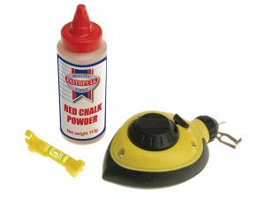 Faithfull Rapid Chalk Line, Chalk & Level