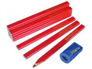 Faithfull, Carpenter's Pencils & Sharpener