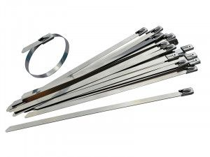 Faithfull, Stainless Steel Cable Ties