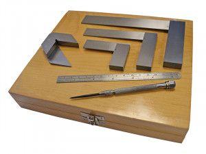 Faithfull Engineers Marking & Measuring Set 6 Piece