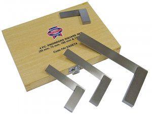 Faithfull Engineers Squares Set, 4 Piece (50, 75, 100, 150mm)