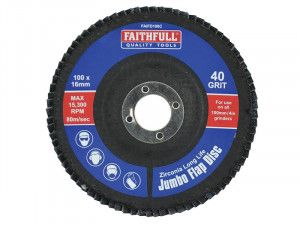 Faithfull, Jumbo Flap Discs