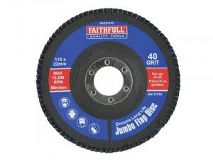 Faithfull, Flap Discs 115mm