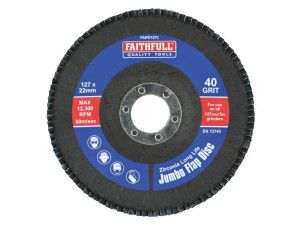 Faithfull, Flap Discs 127mm