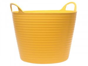 Faithfull, Heavy-Duty Polyethylene Flex Tubs