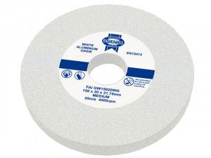 Faithfull, Grinding Wheels, White Aluminium Oxide