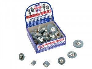 Faithfull Grinding Wheel Assortment 36 Piece