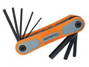 Faithfull, Folding Hex Key Sets