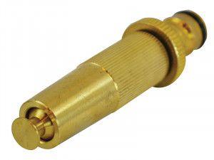 Faithfull Brass Adjustable Spray Nozzle 12.5mm (1/2in)