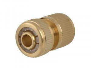 Faithfull Brass Female Water Stop Connector 12.5mm (1/2in)