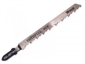 Faithfull, Carbon Steel Jigsaw Blades