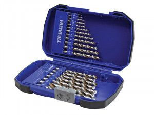 Faithfull Cobalt HSS Drill Set M35 1-10mm 19 Piece