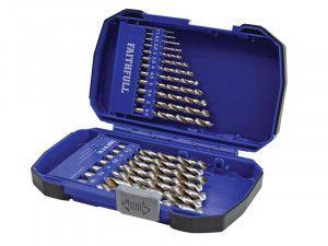 Faithfull Cobalt HSS Drill Set M35 1-10mm 19 Piece