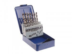 Faithfull, HSS PRO Drill Sets in Metal Cases