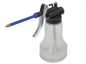 Faithfull Oil Can Transparent Plastic 350ml