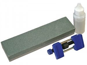Faithfull Oilstone 200mm & Honing Guide Kit