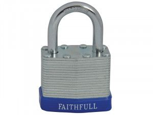 Faithfull, Laminated Padlock Steels