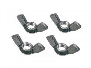 Faithfull External Building Profile Wing Nuts (Pack of 4)