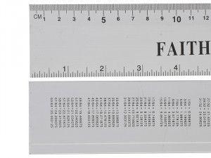 Faithfull, Aluminium Rule