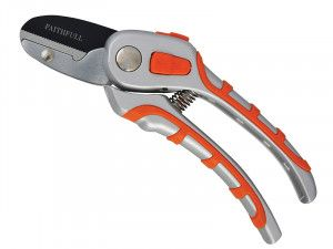 Faithfull Samurai Anvil Secateurs Non-Slip 205mm