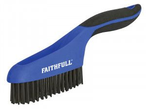 Faithfull, Scratch Brushes Soft Grip