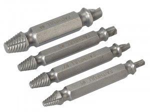 Faithfull Screw Extractor Kit 4 Piece