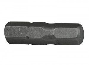 Faithfull, Hex S2 Grade Steel Screwdriver Bits
