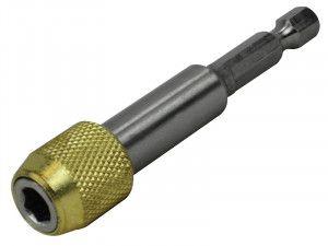Faithfull Magnetic Stainless Steel Quick Release Bit Holder