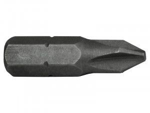 Faithfull, Phillips S2 Grade Steel Screwdriver Bits
