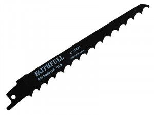 Faithfull Sabre Saw Blade Wood S617K (Pack of 5)