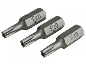 Faithfull, Security S2 Grade Steel Screwdriver Bits
