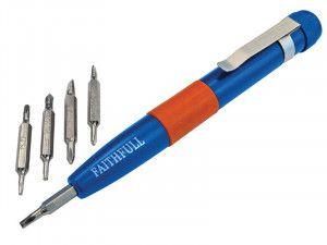Faithfull 12-In-1 Instrument Screwdriver