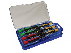 Faithfull Instrument Precision Screwdriver Set of 7 SL/PH/TX
