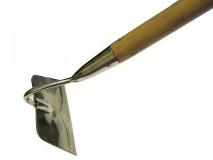 Faithfull Stainless Steel Draw Hoe Ash Handle 1.4m