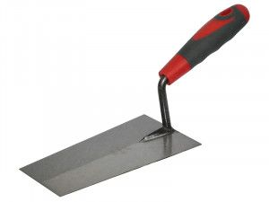 Faithfull Welded Bucket Trowel Soft Grip Handle 7in