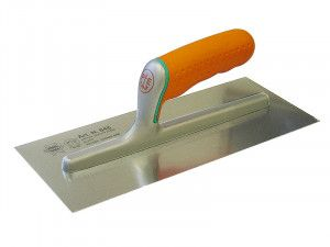Faithfull Plasterer's Finishing Trowel Soft Grip Handle 11 x 4.3/4in