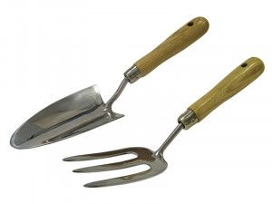 Faithfull Stainless Steel Hand Tool Set of 2 in Cardboard Box