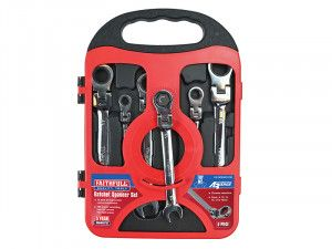 Faithfull Metric Ratchet Spanner Set 6 Piece Metric