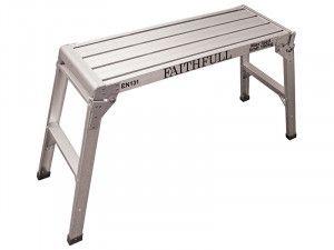 Faithfull Fold Away Step Up Aluminium L100 x H52 x W30cm