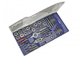 Faithfull Metric Tap & Die Set of 39 Carbon Steel