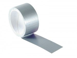 Faithfull Power Stik Waterproof Tape 50mm x 10m Silver