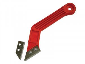 Faithfull Grout Rake with 2 Carbide Blades