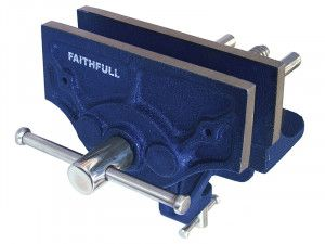 Faithfull Woodcraft Vice 150mm (6in) - Clamp Mount