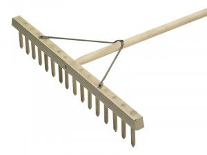 Faithfull Wooden Hay Rake