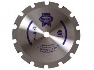 Faithfull, Professional Nail Cutting TCT Circular Saw Blade