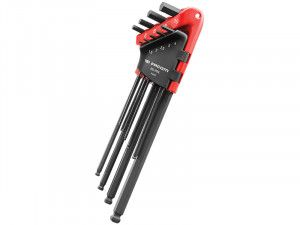 Facom 83S.JP9AL Hex Key Wallet Set of 9