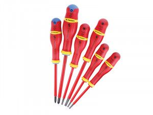 Facom VDE Protwist 1000v Screwdriver Set of 6 SL/PZ