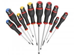 Facom Protwist Screwdriver Set of 10 SL/PH/PZ