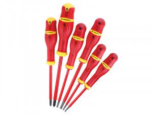 Facom VDE Protwist Screwdriver Set SL/PH 6 Piece Set