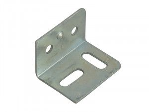 Forge Stretcher Plates Zinc Plated 38mm Pack of 10